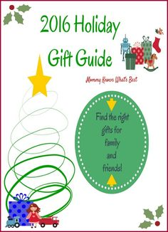 2016 Holiday Gift Guide for the Whole Family
