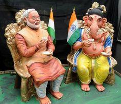 Ganesh chaturthi ki shubh-kamnaye – The Mommypedia Ganesha Drawing, Lord Ganesha Paintings, Ganesha Art, Ganesh Idol, Happy Ganesh Chaturthi Images, Ganesh Chaturthi Decoration, Ganesh Lord, Shri Ganesh, Krishna Hindu