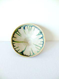Glazed Ceramic Bowl Hand Made Studio Pottery by FreewheelFinds