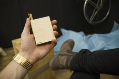Instructions to building your own SmokeBox, Handmade Wooden Cigarette Case.