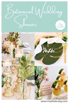 At Modlode we create modern, metallic decor for your special event. Table Centerpieces, Table Decorations, Shower Inspiration, Special Events, Metallic, Make It Yourself, Create, Modern, Handmade