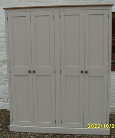 This 4 Door Hall Storage Cupboard Is 190 Cm Tall 158 Cm Wide And 35 Cm