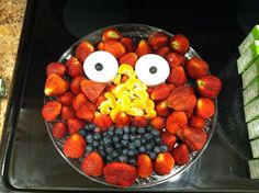 Sesame Street Elmo Fruit Tray