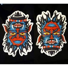 double face tattoo monster - Cerca con Google