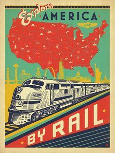 Explore America By Rail - #Railroad: