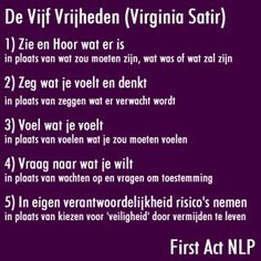 Vijf vrijheden Nlp Coaching, Brain Gym, Positive Psychology, Spiritual Practices, Emotional Intelligence, Happy Life, Counseling, Mindfulness, Positivity