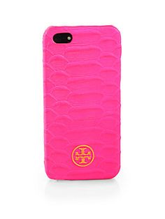 Ring ring - This snake-embossed hardcase for your iPhone will look fantastic coming out of your Tory Burch bag.  #toryburch