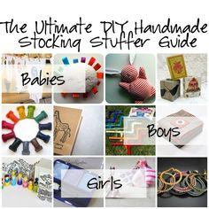 handmade stocking stuffers