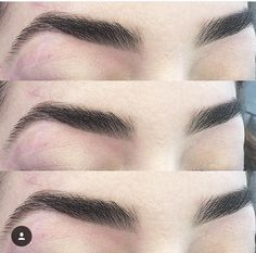 either get eyebrow tattooed or eyebrow extensions hairs