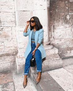 Classy Outfits, Stylish Outfits, Fashion 101, Autumn Fashion, Blazer Fashion, Fashion Outfits, Successful Women, Black Women Fashion, Ladies Day