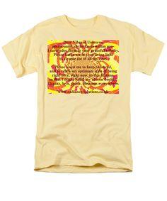 Surrender T-Shirt featuring the digital art Dear Vibrant Universe by Julia Woodman