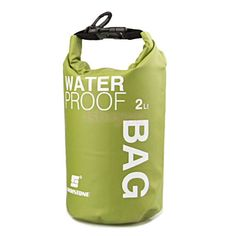 Green Waterproof 2L Military Dry Bag Sack Canoe Kayaking Fishing Travel Camping #