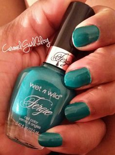 Wet n Wild Fergie Miami Spirit nail polish