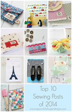 2014 - Top 10 Sewing Projects - A Spoonful of Sugar