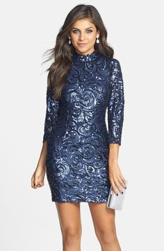 Sparkly sequin party dress!