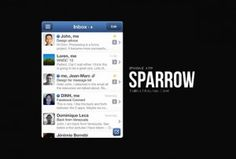 Sparrow iPhone mail client