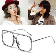 #SUNGLASSES #NEW JackJad New Fashion Cool Square Style Sunglasses Eyewear Frame Star Street Snap Brand Design Sun Glasses Oculos De Sol…