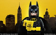 Repin if you too love #Batman :]  #LegoBatmanMovie #LEGO #wallpaper Lego Batman Cakes, Lego Batman Party, Batman Birthday, Lego Batman Movie, 3rd Birthday, Batman Cartoon Movies, Avengers Movies, Batgirl And Robin, Batman Robin