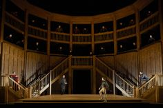 Donizetti's Roberto Devereux at the Canadian Opera Company. Directed by Stephen Lawless. Sets by Benoit Dugardyn.