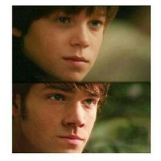 perfect casting. Colin Ford as young Sam Winchester