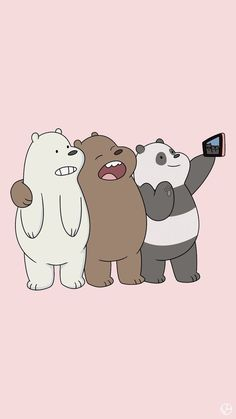 we bare bears wallpaper iphone Bear Wallpaper, Tumblr Wallpaper, Disney Wallpaper, Iphone Wallpaper, Animal Wallpaper, Wall Wallpaper, We Bare Bears Wallpapers, Panda Wallpapers, Cute Cartoon Wallpapers