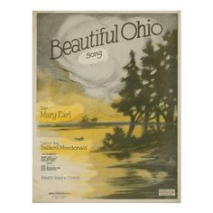 Beautiful Ohio Poster