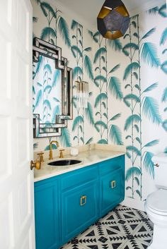 BEFORE/AFTER – Our Powder room