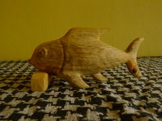 Ryba , dřevo Lípa.