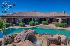 Featured Listing in Cave Creek, AZ on over 2+ acres of land!  This dream home has all the amenities you can ask for!