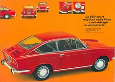 Fiat 850 Coupé - brochure