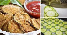 Chips de calabacín deliciosos y fáciles de hacer para preparar un snack saludable.
