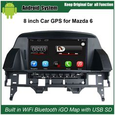 Discount! US $320.00  Upgraded Multimedia Radio GPS Navigation for Mazda 6 M6 (2002-2008) Car Video Player with WiFi Bluetooth Smartphone Mirror-link  #Upgraded #Multimedia #Radio #Navigation #Mazda #Video #Player #WiFi #Bluetooth #Smartphone #Mirrorlink  #Internet