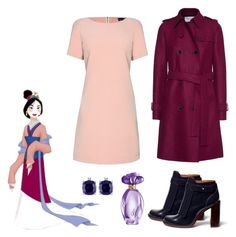 """Mulan"" by kimmmeo ❤ liked on Polyvore featuring James Lakeland, Harris Wharf London, Tory Burch, GUESS and Miadora"