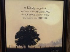 Items Similar To New Ending By Bonnie Mohr Framed Inspirational Landscape  Print On Etsy