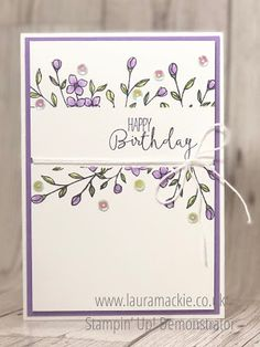 Stampin' Up! with Laura Mackie Independent Demonstrator: Stampers by the Dozen Blog hop
