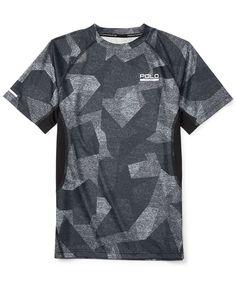 c1e66315b Ralph Lauren Boys  Polo Sport Micro-Dot Camo-Print T-Shirt Kids - Shirts    Tees - Macy s