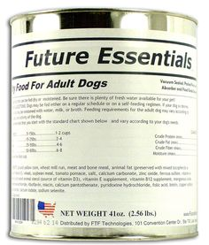 Future Essentials Canned Dry Dog Food-Long Shelf Life ** To view further for this item, visit the image link. (This is an affiliate link and I receive a commission for the sales)