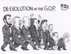 The Slow And Growing Incompetence Of The Republican Party: Faith and government shouldn't be as cozy as they are in this country. Politicians in general, and Republicans in particular, shouldn't genuflect as slavishly as they do, not in public. They're vying to be senators and presidents. They're not auditioning to be ministers and missionaries. THE CONSTITUTION &  SEPARATION OF CHURCH & STATE...  THEIR SHREDDING IT!!!