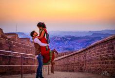 "Shuddh Desi Romance :)  At the ""Blue City"" - Jodhpur!"
