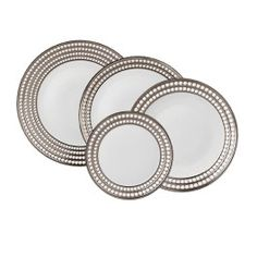 Take a look at the Perlee Silver Dinner Set at LuxDeco.com