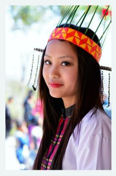 Mizo Traditional dress Chapchar Kut Northeast India