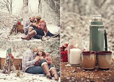 Winter Picnic Engagement
