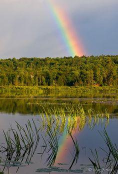 Rainbow / Lake Durant, Adirondack Mountains, NY