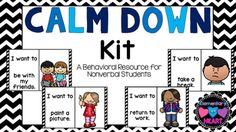 Do you work with autistic students? How about students that are non verbal? This kit is easy to create and to use!What's…