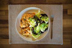 Low Carb Ideen - Kohlrabilasagne mit Salanova Salat - photography - food Ⓒ PASTELPIX