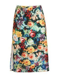 Paper Dolls Floral print skirt