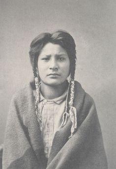 "Cracking Wing, Gros Ventri Tribe, on arrival at Hampton. 1880  Frances Benjamin Johnston (American, 1864-1952)    1899-1900. Platinum print, 5 1/2 x 3 11/16"" (13.9 x 9.4 cm). Gift of Lincoln Kirstein  859.1965.13"