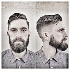Zero fade, loose Ivy League @natebpeters. Styled with Imperial Matte Pomade Paste @imperialbarberproducts #barber ...