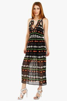 Aztec Ride Dress - Pulse Designer Fashion