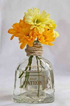 A Cinco de Mayo party is the perfect time to get creative with these fun, DIY decoration ideas. Check out some of our favorite decor ideas and festive party decorations for your Cinco de Mayo fiesta. Mexican Birthday Parties, Mexican Fiesta Party, Fiesta Theme Party, 23 Birthday, Party Party, Bbq Pitmasters, Milk Bottle Centerpiece, Centerpiece Ideas, Fiesta Party Centerpieces